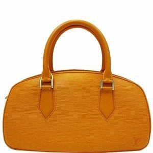 LOUIS VUITTON Jasmine Epi Leather Satchel Bag